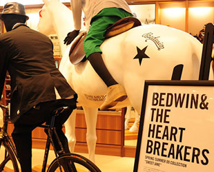 Bedwin & The Heartbreakers Pop-up shop