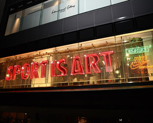 SPORTS IS ART Nike sportswear + BeamsT Pop-up shop