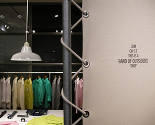 Band of Outsiders Pop-up shop