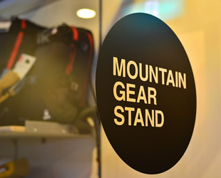 Mountain Gear Stand